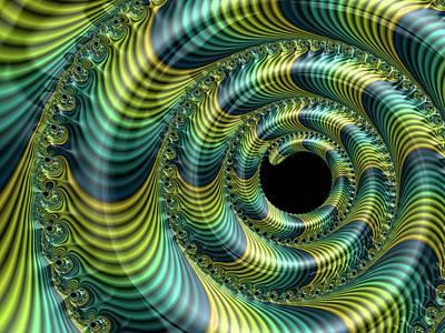Fractal Geometry Photograph - Julia Fractal by Alfred Pasieka