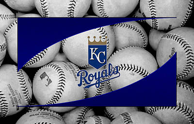 Kansas City Royals Print by Joe Hamilton