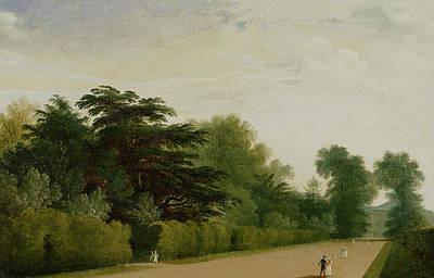 Perspective Painting - Kensington Gardens by John Martin