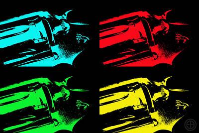 Diamondback Digital Art - King Cobra Pop by Jorge Estrada