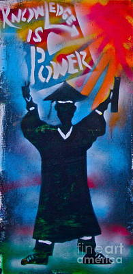 Brain Painting - Knowledge Is Power 7 by Tony B Conscious