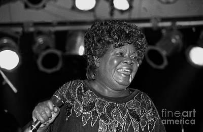 Queen Photograph - Singer Koko Taylor by Concert Photos