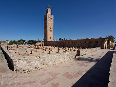 Koutoubia Minaret Built By Yacoub El Print by Panoramic Images