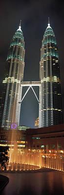 Twin Towers Photograph - Kuala Lumpur Malaysia by Panoramic Images