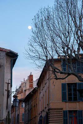Europe Provence Aix-en-provence Photograph - La Lune D'aix-en-provence by W Chris Fooshee