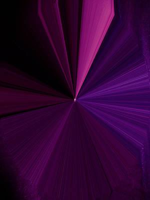 Visual Communication Digital Art - La Vie En Rose 16 by Rozita Fogelman