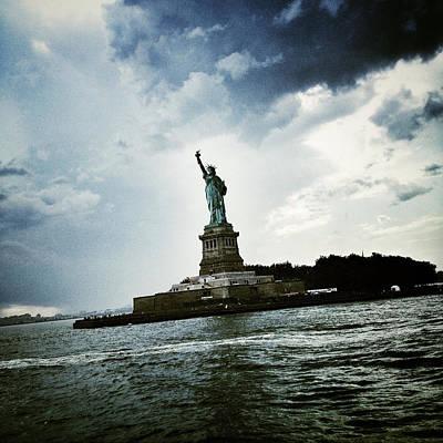 New York City Digital Art - Lady Liberty by Natasha Marco
