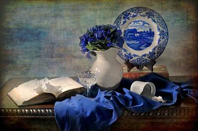 Lady's Got The Blues Print by Diana Angstadt