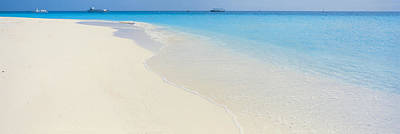 Boats In Water Photograph - Laguna Maldives by Panoramic Images