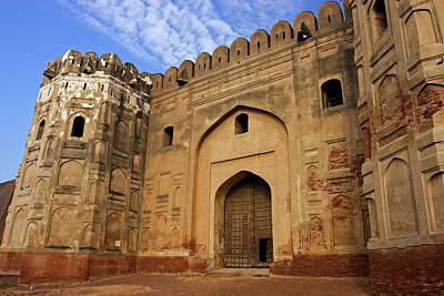 Lahore Photograph - Lahore Fort Constructed By Mughal by Yasir Nisar