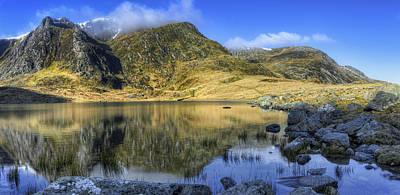 Snowdon Photograph - Lake Idwal by Ian Mitchell