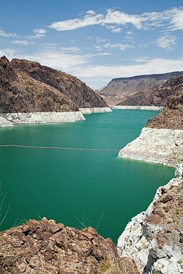 Dry Lake Photograph - Lake Mead Reservoir by Jim West