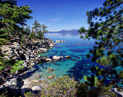 Lake Tahoe Swimming Hole Print by Scott McGuire
