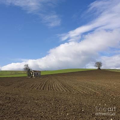 Auvergne Photograph - Landscape In France by Bernard Jaubert