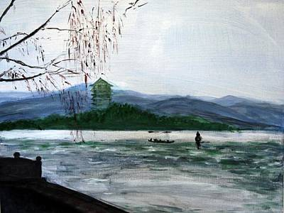 Landscape Pop Arts Print by J j Jin