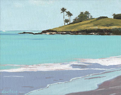 Haleiwa Painting - Lanikai by Stacy Vosberg