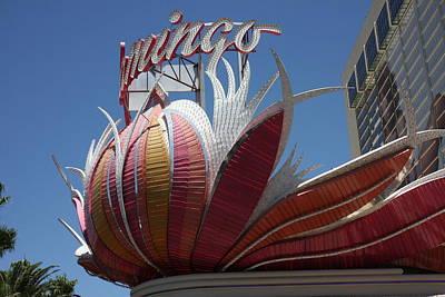 Las Vegas - Flamingo Casino - 12121 Print by DC Photographer