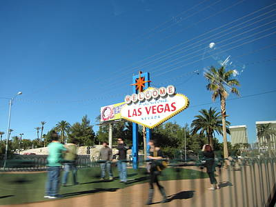 Las Vegas - The Srip - 12122 Print by DC Photographer