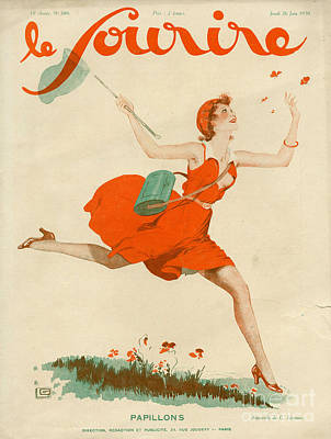 Le Sourire 1930 1930s France Magazines Print by The Advertising Archives