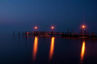 Pier Photograph - Lemon by Benjamin DeHaven