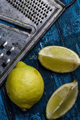 Grate Photograph - Lemon by Nailia Schwarz