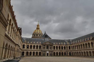 Les Invalides - Paris France - 011318 Print by DC Photographer