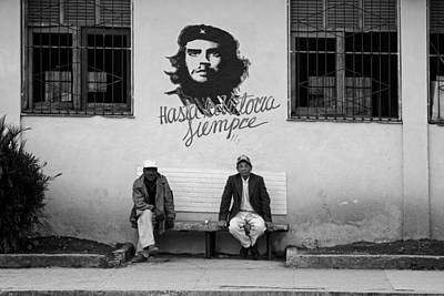 Mural Photograph - Life In Havana by Mountain Dreams