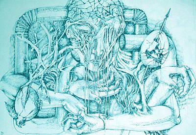 Body Drawing - Life by Moshfegh Rakhsha