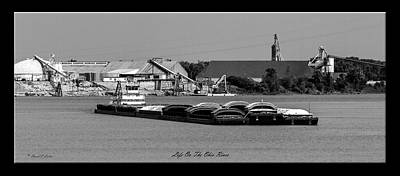Daviess County Photograph - Life On The Ohio River by David Lester
