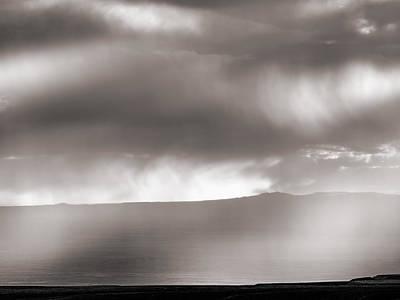 Light In Rain Print by Leland D Howard