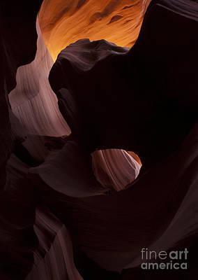 Eye Photograph - Light In The Eye by Mike Dawson