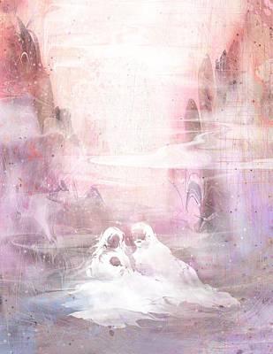 Jesus Christ Digital Art - Light Of The World by Rachel Christine Nowicki