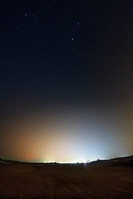 Qatar Photograph - Light Pollution by Babak Tafreshi