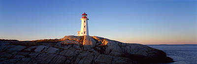 Halifax Photograph - Lighthouse At The Coast, Peggys Point by Panoramic Images