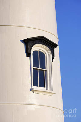 Lighthouse Window Print by John Greim