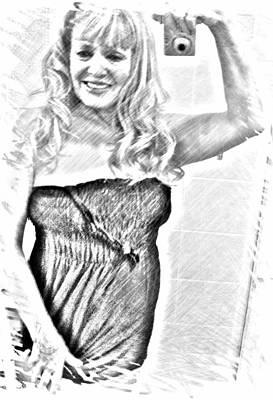 Etc Mixed Media - Linda by HollyWood Creation By linda zanini