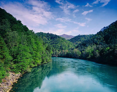 Little Tennessee River Print by Mountain Dreams
