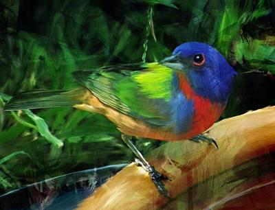 Bunting Digital Art - Living Rainbow by Shannon Story