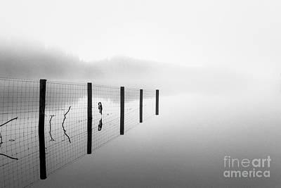 Flora And Fauna Photograph - Loch Ard Early Mist by John Farnan