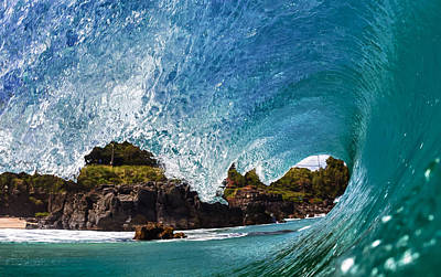 Wave Photograph - Looking Out by Gregg  Daniels