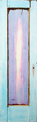 Looking Within Door Print by Asha Carolyn Young