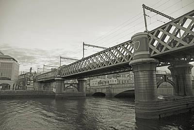 Loopline Bridge Dublin Ireland Print by Betsy Knapp