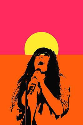 Moscow Mixed Media - Loreen In Pop Art  by Toppart Sweden
