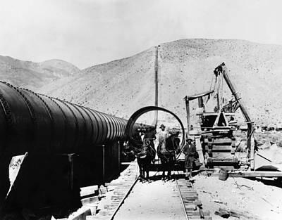 Los Angeles Aqueduct Print by Granger