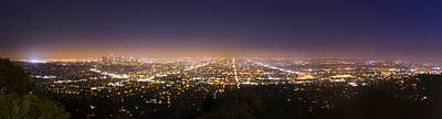 Los Angeles Skyline Original by Jerome Obille
