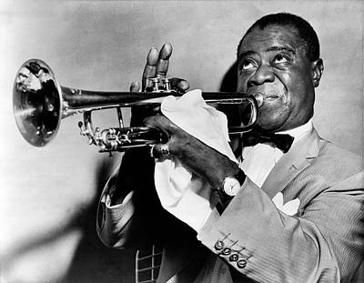Louis Armstrong Print by Mountain Dreams