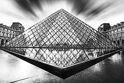 Louvre Original by Ivan Vukelic