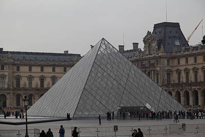 Vertical Photograph - Louvre - Paris France - 01132 by DC Photographer