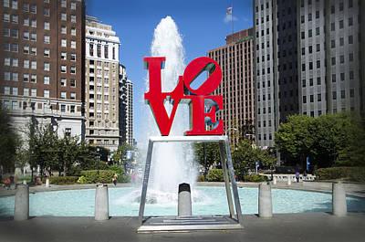 Phillies Digital Art - Love It by Bill Cannon