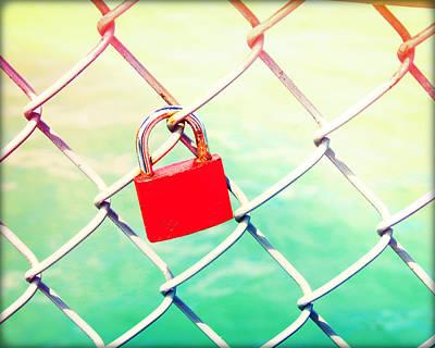 Love Locks I Original by Chris Andruskiewicz